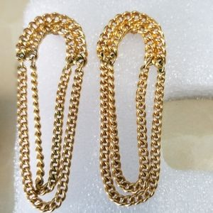 3 for $10 large chain earrings
